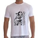 Camiseta Masculina Personalizada Scania Go Well Branca