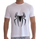 Camiseta Masculina Personalizada Aranha Go Well Branca Copia