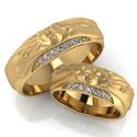 Aliança de Casamento Amore - Ouro 18k 750