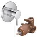 Misturador Monocomando Deca para Chuveiro Link Cromado - 2993.C.LNK.034
