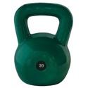 Kettlebell Emborrachado 20Kg - Infinity Fitness