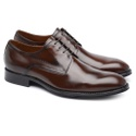Derby Plain Toe Chocolate G05