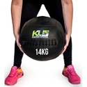 Wall Ball Couro Crossfit Funcional Medicine Ball 14 Kg 30 Lb