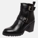 Bota Tratorda Mega Boots em Couro Legitimo - Preto -1425
