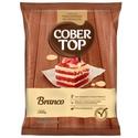 Cobertura de Chocolate Cobertop Branco em Pedaços 1,010kg