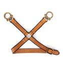 Harness De Perna Couro Cela Caramelo
