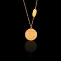 Colar Versace 18mm Aço Inox Dourado