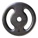 Anilha de Ferro Pintada 4kg Vazada