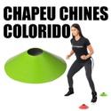 10 Chapéus Chinês Colorido Mini Cone