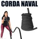 Corda Naval 10 Metros para Exercícios de Crossfit