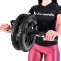 Roda Abdominal Power Dupla Profissional em ABS CrossFit