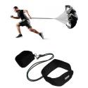 Kit Paraquedas Para Corrida + Cinto de Tração