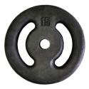 Anilha de Ferro Pintada 15kg Vazada