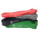 Kit 4 Elastico SuperBand - Treinamento Funcional e Cross Fit