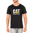 Camiseta Masculina Personalizada 100% Algodão Preta