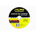 "Disco de Corte para Metal 10"" X 1/8"" X 1"" BelTools"