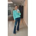Blusa tricot Acqua