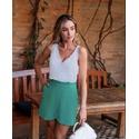 Shorts Saia Clochard Verde