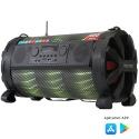 Caixa De Som Bluetooth Bazuka Xb860 Polyvox 480w Radio Fm Led