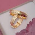 Aliança de Ouro 18K 6mm 9 gramas Bodas de Casamento