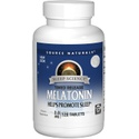 Melatonina - Source Naturals - 3 mg - 120 Tabletes