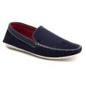 Sapato Mocassim Masculino Azul