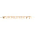 Colar Choker Unidas Pérola Dourado | Coleção Guta Virtuoso