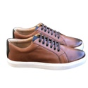 Sneaker Classic Whisky/Navy