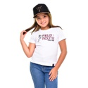 Camiseta infantil Texas Farm CI014 Branco