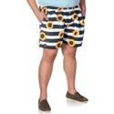 Short Masculino Plus Size Tactel Girasol Selten