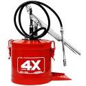 Bomba Manual para Graxa HYDRONLUBZ com Reservatório 7 Kg 8484