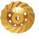 Rebolo Diamantado Segmentado 115mm Mtx 729139 Com Rosca M14