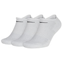 Kit 3 Pares De Meia Nike Cano Baixo Everyday Cushion - Branco