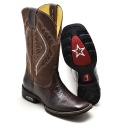 Bota Country Masculina Texana Café