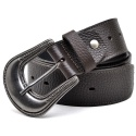 Cinto Masculino Country Mouro Couro Total