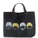 Book Bag Beatles Preta