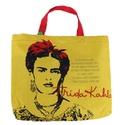 Book Bag Frida Kahlo Olhos Amarela