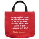 Book Bag Paulo Freire - Educação