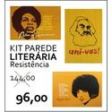 PAREDE LITERÁRIA - RESISTÊNCIA
