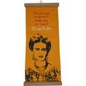 Flâmula Frida Kahlo Pies Amarela