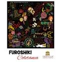 FUROSHIKI COLETÂNEA - PRETO - 70x70cm