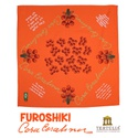 FUROSHIKI CORA - Laranja - 70x70cm