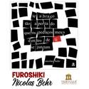 FUROSHIKI NICOLAS BEHR - Preto e Branco - 71x71cm