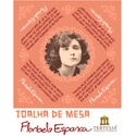 Toalha de Mesa Florbela Espanca - Rosa