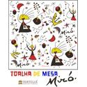Toalha de Mesa Juan Miró - Branca