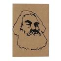 Cartão Karl Marx