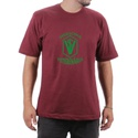 Camiseta Medicina Veterinaria Bordo