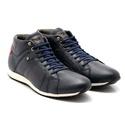 Tênis Sapatênis Conforto Anatômico Top Franca Shoes Cano Alto Marinho
