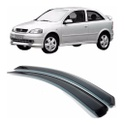 Calha de Chuva Astra 1999 a 2002 e Peugeot 206 2 Portas Fumê Jg
