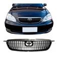 Grade Corolla 2003 á 2008 Preto C/ Moldura Cromado Modelo Seg
